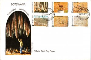 Botswana, Worldwide First Day Cover