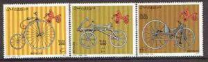 Somalia 2000 Early Bicycles perf set of 3 unmounted mint*
