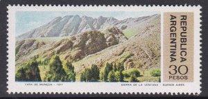 Argentina #1151 single F-VF Mint NH ** Sierra de la Ventana