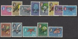 Tristan da Cunha, Sc 55-67 (SG 55-67), MLH/HR