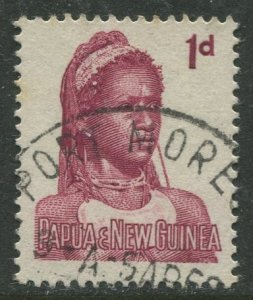 STAMP STATION PERTH Papua New Guinea #153 General Issue  Used 1961 CV$0.25