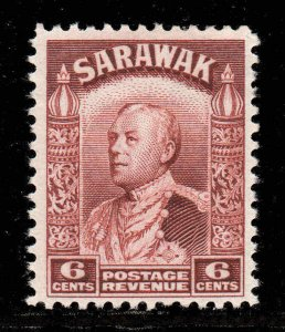 Sarawak 1934  6c lake-brown SG 111a mint
