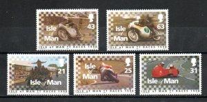 Isle of Man 788-792 MNH
