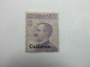 Italy Italia Calino 1912 50c mnh** A4136
