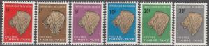Senegal #J37-42  MNH  (K1817L)