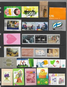 Finland 1131-2,1172,1295 & more 18 MNH issues vf see desc. 2020 CV$85.00