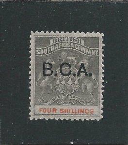 NYASALAND 1891-95 4s GREY-BLACK & VERMILION MM SG 11 CAT £100