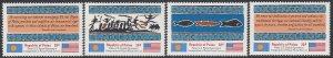 Palau 1-4 MNH - Inauguration of Postal Service