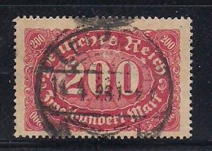 Germany Sc. # 157 Used Inflation Wmk. 125 - L35