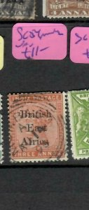 BRITISH EAST AFRICA (P1205B)  QV ON INDIA  3A     SG 54   MOMBASA  VFU
