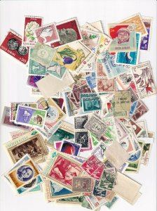 ROMANIA SCANNER FULL + 4 STOCK PAGES COLLECTION LOT 100s OF STAMPS