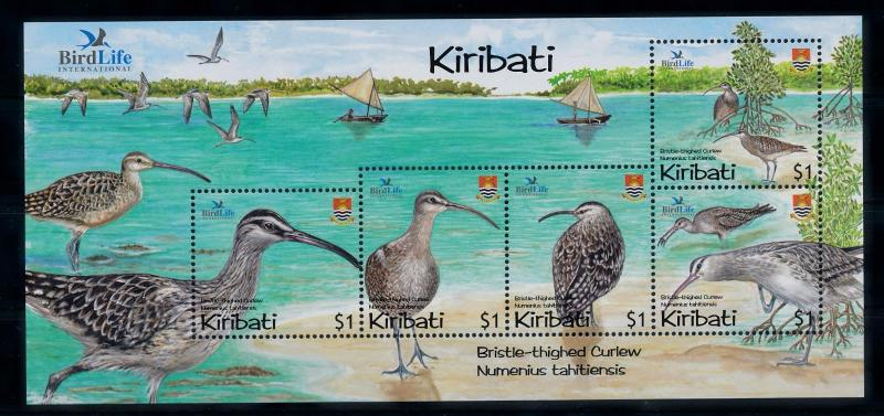 [41031] Kiribati 2004 Birds Vögel Oiseaux Ucelli   MNH Sheet