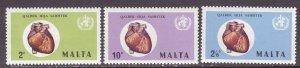 Malta (1972) #436-8 MNH