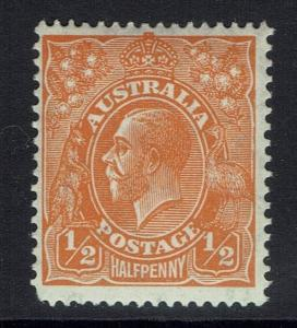 Australia SG# 124, Mint Lightly Hinged - Lot 020617