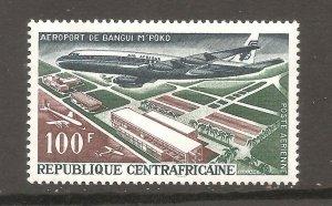 Central African Republic  (1967)  - Scott # C44,     Aviation