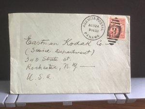 Panama 1928 to Eastman Kodak Co to U.S.A.   stamp cover R31705