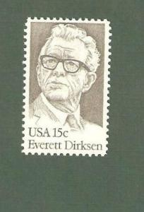 1874 Everett Dirksen US Single Mint/nh FREE SHIPPING