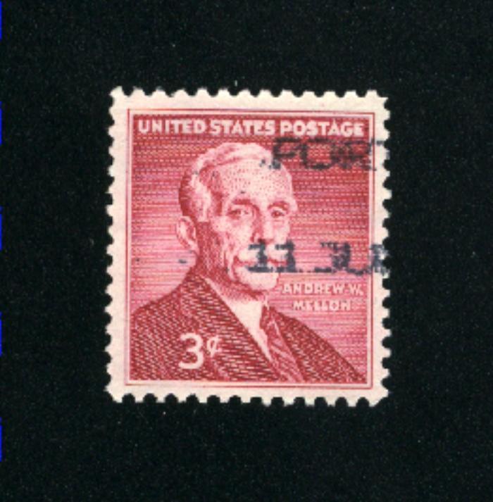 USA #1072 used 1955 PD