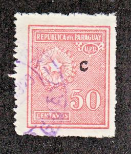Paraguay Scott #L12 Used