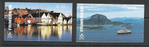 Norway 1092a-3a MNH complete booklet, vf. 2022 CV $ 26.00