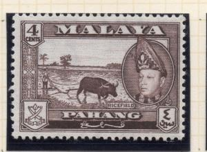 Penang Malaya 1957 Early Issue Fine Mint Hinged 4c. 029750