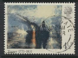 Great Britain SG 971   -Used  - Painters Turner