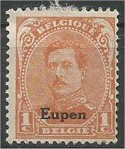 GERMAN, 1920, MH 1c, EUPEN ISSUE, Scott 1N25