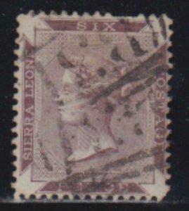 Sierra Leone 1859-1874 SC 1B USED