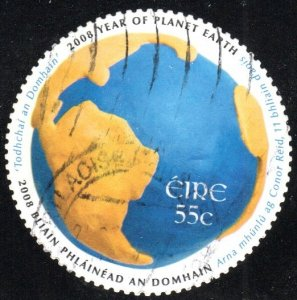 Ireland 1782 - Used - 55c North and South America / Globe (2008) (cv $1.75) (2)