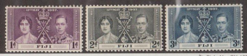Fiji Scott #114-115-116 Stamps - Mint Set