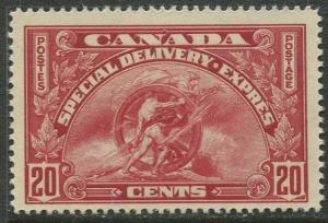 Canada - Scott E6 - Special Delivery - 1935 - MVLH - Single 20c stamp