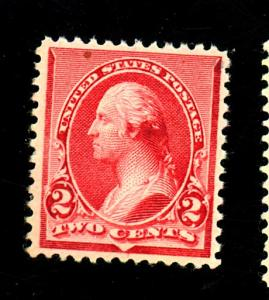 220 MINT VF OG NH Minor gum Wrinkles Cat $60