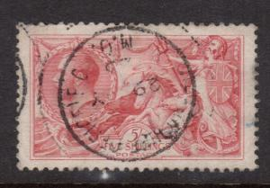 Great Britain #174a VF Used With CDS Cancel Watermark 34 Perf 11 x 12