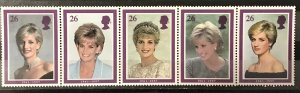 Great Britain 1998 #1795a S/S MNH, CV $3.50