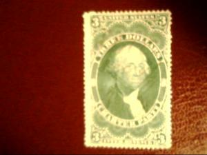 3 dollar Charter Party revenue stamp
