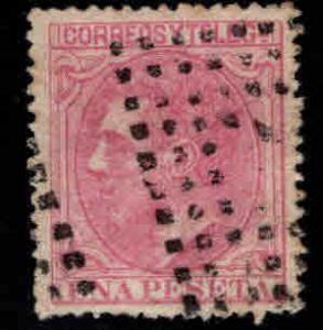 Spain 249 Used  King Alfonso II 1 Pesata 1879