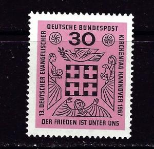 Germany 972 NH 1967 issue