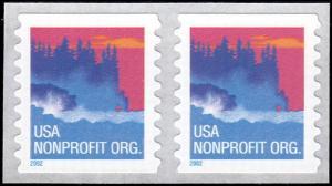 3693 Sea Coast Nonprofit MNH Pair