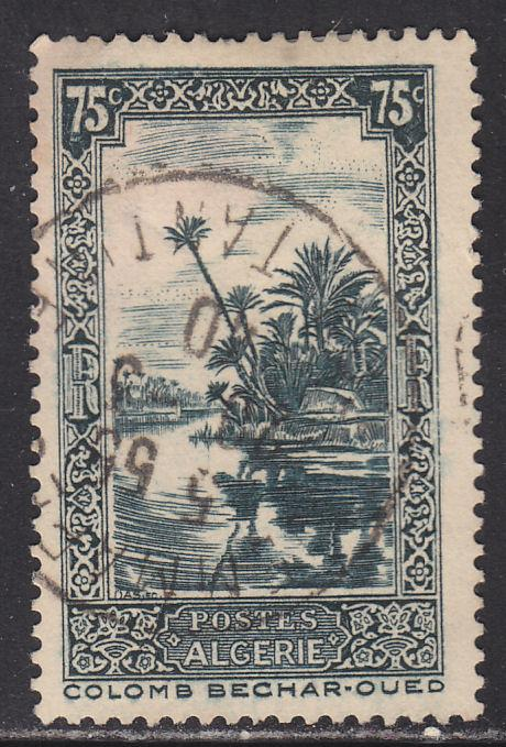 Algeria 94 Oued River at Colomb-Bechar 1936