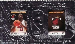 St Kitts - NBA Shaquille O'Neal - Foil Sheet STK0706