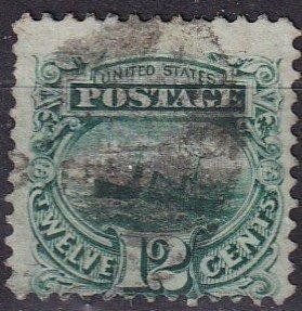 US #117  F-VF Used  CV $130.00 (Z2425)
