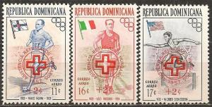Dominican Republic #CB1-3 Mint Never Hinged VF (A12084L)