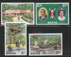 KENYA  84-87  MNH   1977 ISSUE