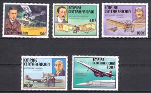 CENTRAL AFRICAN EMPIRE - HISTORIE DE L'AVIATION - MNH **
