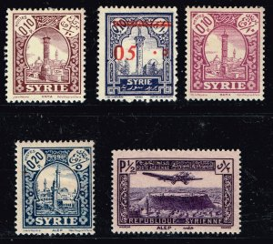 FRANCE COLONIES SYRIA  MH/OG STAMP COLLECTION LOT