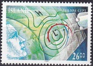 Iceland #738   MNH  CV $7.00 (Z7766)