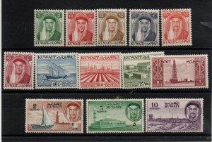Kuwait 140-145 Set Mint Hinged