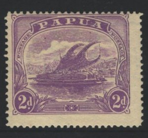 Papua New Guinea Sc#52 MH - pencil on reverse