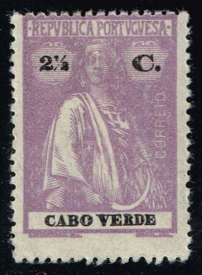 Cape Verde #168 Ceres; Unused (0.25)