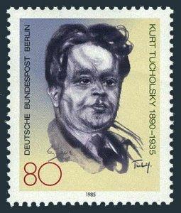 Germany-Berlin 9N506,MNH.Mi 748. Kurt Tucholsky,1890-1935,novelist,journalist.